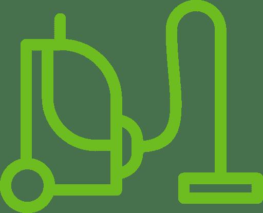 Vacuum Cleaner Flat Icon