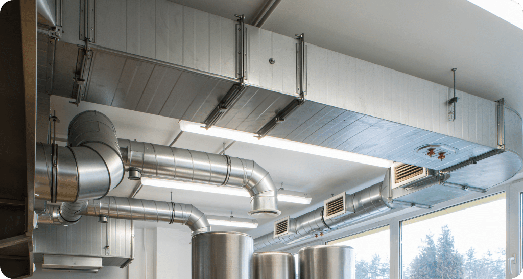 air duct ventilation system